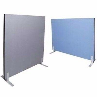 Acoustic Screen Divider Fabric Pinable 1500Wx1800H BLUE or GREY 1518SCREEN