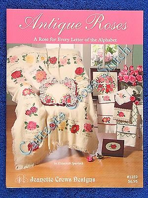 Cross Stitch Pattern Antique Rose A to Z 28 Roses Afghan Design Floral