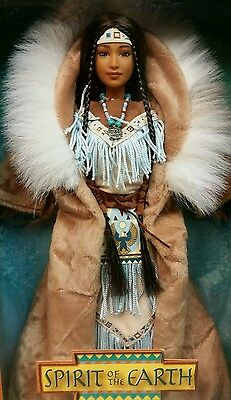 Spirit of the Earth LE Barbie, Native Spirit Collection ~ NIB 1st in the Series