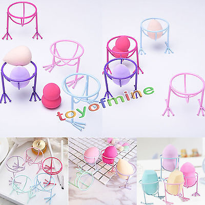 Makeup Beauty Stencil Egg Powder Puff Sponge Display Stand Drying Holder Rack