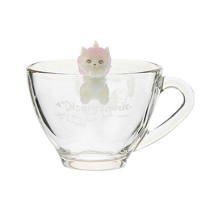 The Aristocats Glass Mug Cup Figure Lovely ❤ Disney Store Japan