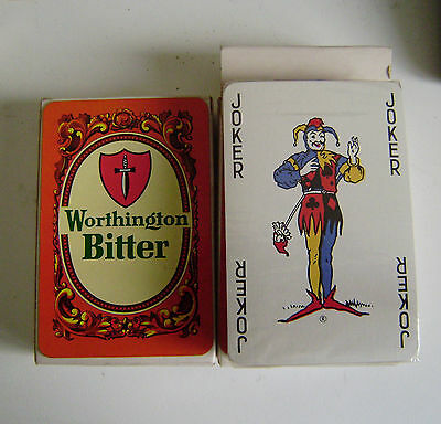 Worthingtons Bitter Playing Cards Sealed Pack Collectibles Breweriana Quality