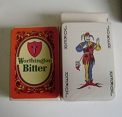 Worthingtons Bitter Playing Cards Sealed Pack Collectibles Breweriana Quality P2