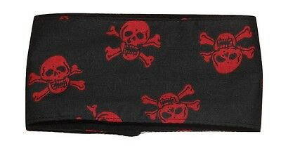 dog belly band red skulls dog fabric male stud boys washable reusable puppy