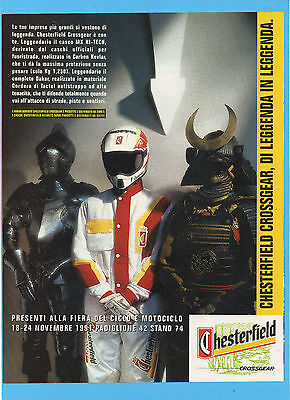 Motosprint991-Pubblicita'/advertising-1991- Chesterfield Crossgear