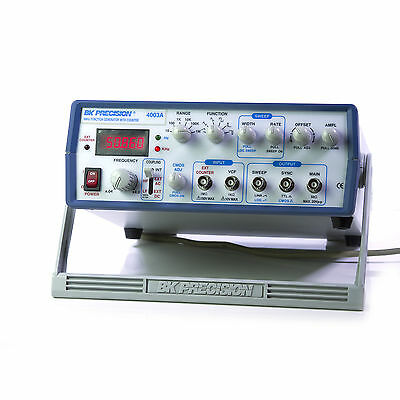 BK Precision 4003A 4 MHz Function Generator w/ 5 Digit Red LED, Open Box