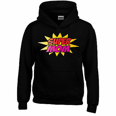 Super Mum Mothers Day Funny Hoodie