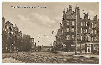 POSTCARD-SCOTLAND-GLASGOW-PTD. The Cross, Anniesland.
