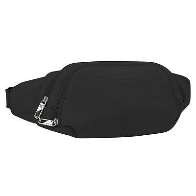 Travelon Anti-Theft Slim RFID-Blocking Waist Fanny Pack Black