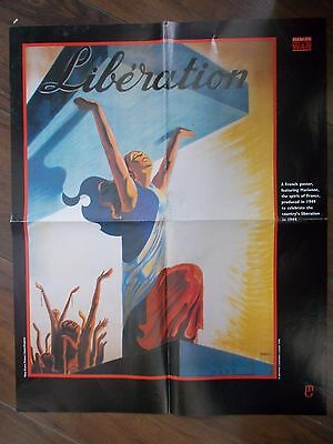 Vintage Style Wwii French Propaganda Poster - Marianne The Spirit Of France