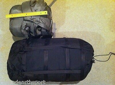 US Military Issue Sleeping Bag Compression Sack MSS USGI Very Good Condition