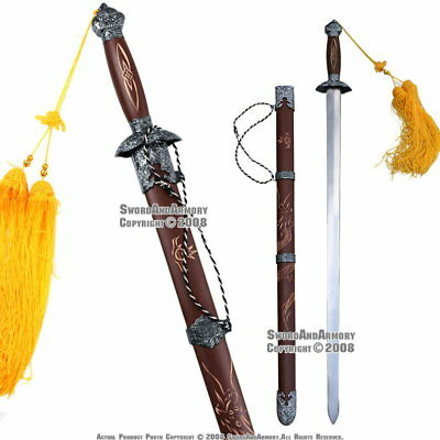 Spring Steel Tai Chi Kung Fu Martial Art Chinese Practice Sword