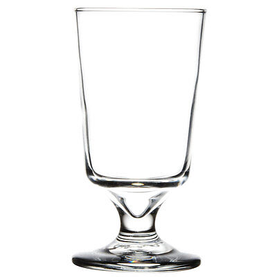 Libbey Embassy Footed Drink Glasses, Hi-ball, 8oz, 5 3/8 Tall - 3736, Case of 24