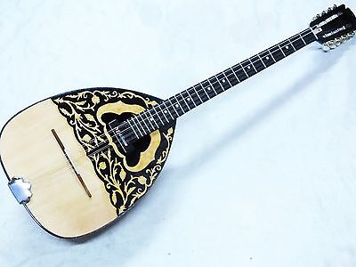 Rizos :: Greek Acoustic  Bouzouki  With Pick Up  And Truss Rod  New !!!!!!!!!!