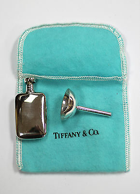 Tiffany & Co. Sterling Silver Perfume Bottle with Funnel