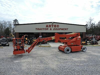 2007 Jlg E400Ajp Articulating Boom Lift - Genie - Pivoting Jib - Low Hours!!