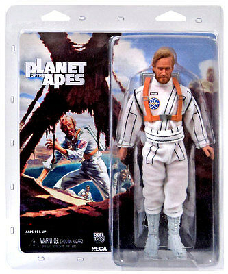 """PLANET OF THE APES - George Taylor 8"""" Action Figure (NECA) #NEW"""