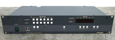 Kramer 6x6 Video & Audio Matrix Switcher VS-606xl