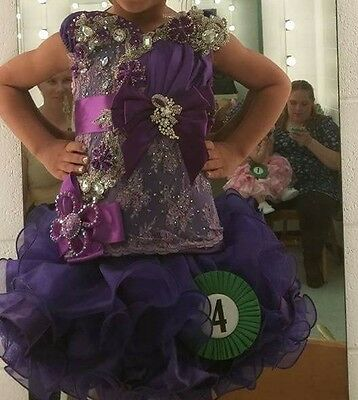 Pageant dress 3t to 5t