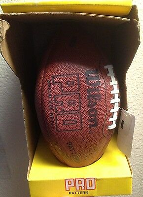 Wilson Pro Vintage Leather Football F1151 In Box NEW