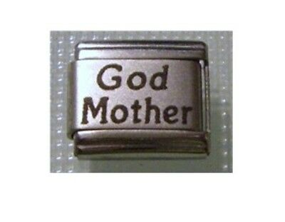 9mm Classic Size Italian Charm L50 Godmother God Mother