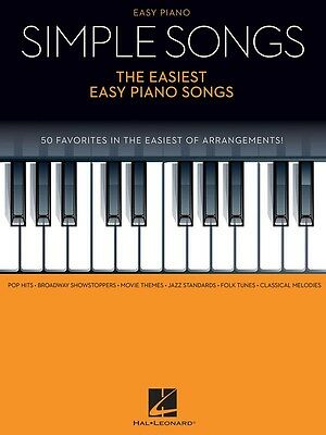Simple Songs - The Easiest Easy Piano Book - 50 Favourites