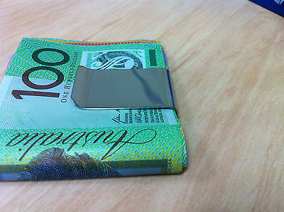 Stainless Steel Money Clip AU Stock..Free Shipping!