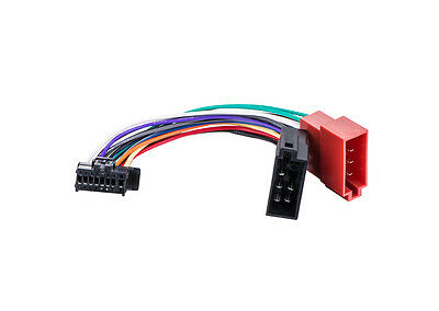 pioneer radio 16pin power speakers wire harness iso 1601 $8 99ny shipping pioneer 16pin into radio harness iso connector skpio1610 21 iso