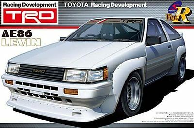 1/24 AOSHIMA 000270 TOYOTA TRD AE86 LEVIN N2  Plastic Model Car Kit