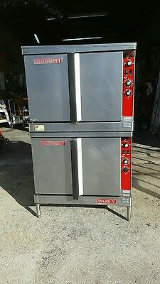 blodgett electric convection oven double stack