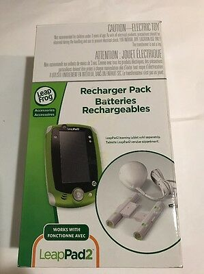 LeapFrog LeapPad2 Recharger Pack Works with all LeapPad2 Tablets
