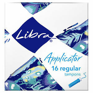 Libra Tampons Applicator Regular 16 NEW Cincotta Chemist