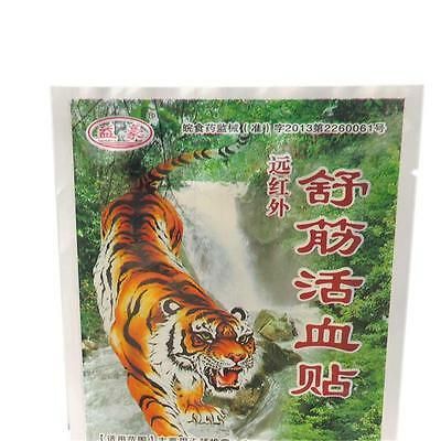 40pcs Pack Tiger Balm 7X10cm Patch Massage Plaster Warm Medicated Pain Relief CO
