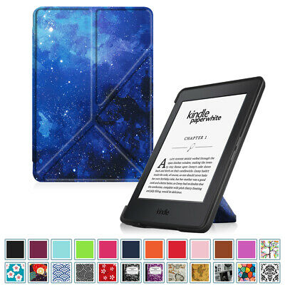 For 2012-2017 All-New Amazon Kindle Paperwhite Origami Case PU Leather Cover