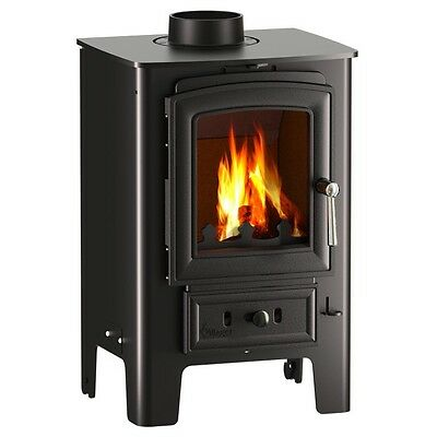 Villager Puffin Multi Fuel Wood Burning Stove  Official Retailer
