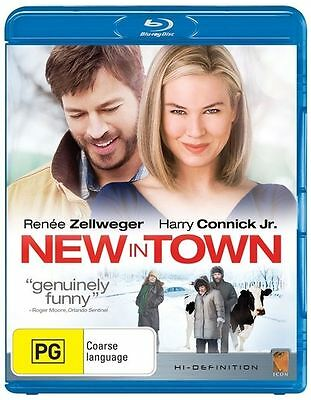 New In Town (Blu-ray, 2009) Brand New, Genuine & Sealed  - Free Postage D44