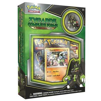 POKÉMON TCG Zygarde Complete Forme Pin Collection Trading Card - Brand New