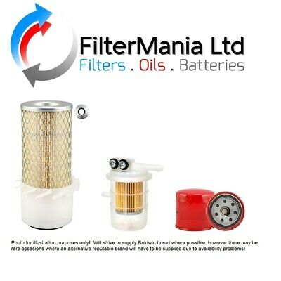PELJOB EB12.4 FILTER KIT WITH MITSUBISHI L3E ENGINE (Air, Oil, Fuel Filter)