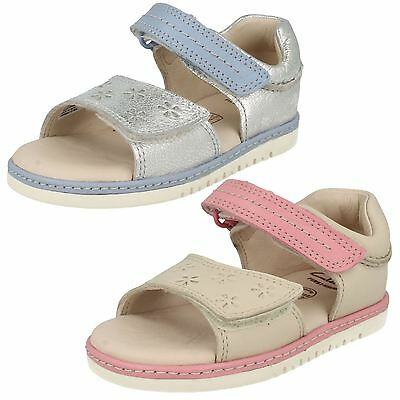 Infant Girls Clarks Summer Sandals Tika Ice