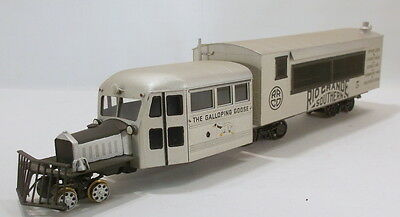 On3 BRASS LMB RIO GRANDE SOUTHERN PASSENGER BUS BODY GOOSE # 5-CUSTOM PAINTED