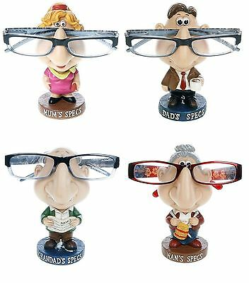 Glasses Holder Specs Stand Nose Rack Reading Spectacles Novelty Gift