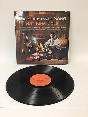 Nat King Cole - The Christmas Song | Capitol  | VG+ / VG+ | Cleaned Vinyl LP