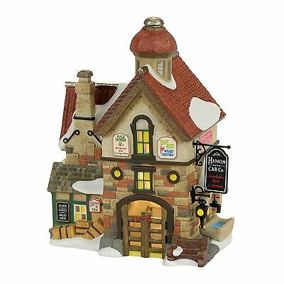 Dept 56 Dickens The Hansom Can Co Lit Building 4056644 2017 D56 NEW