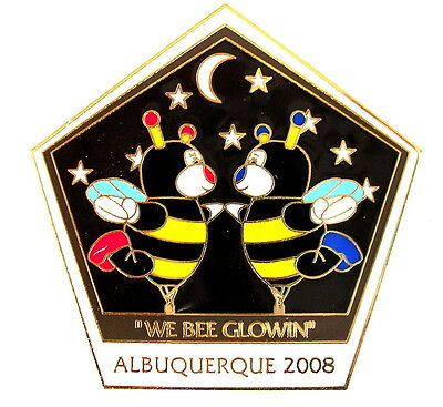 """BALLON """"SPECIAL SHAPE"""" Pin / Pins - LITTLE BEES """"WE BEE GLOWIN"""" 2008 [3797]"""