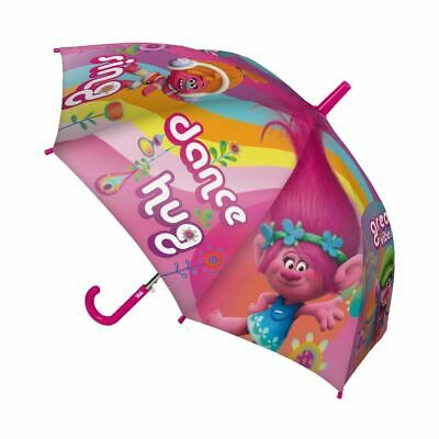 Children Kids Official Dreamworks Trolls Girls Character Umbrella