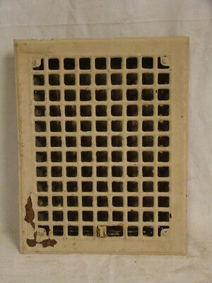 Vintage 1920S Iron Heating Grate Square Design 13.75 X 10.75 C