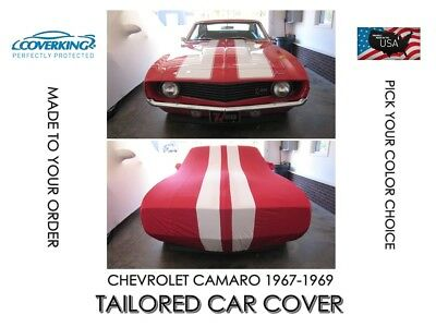 Chevrolet Camaro 67-69  Indoor Satin Stretch Tailored Car Cover from Coverking