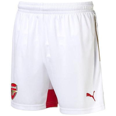 Arsenal Home Shorts 2015 - 2016 By Puma - Mens - BNWT
