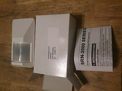 Visonic SRN-2000 PIR Security Sensor Motion Detector NIB with Instructions
