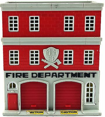 Lewis Galoob Toys Micro Machines Fire Department Building 1989 USED